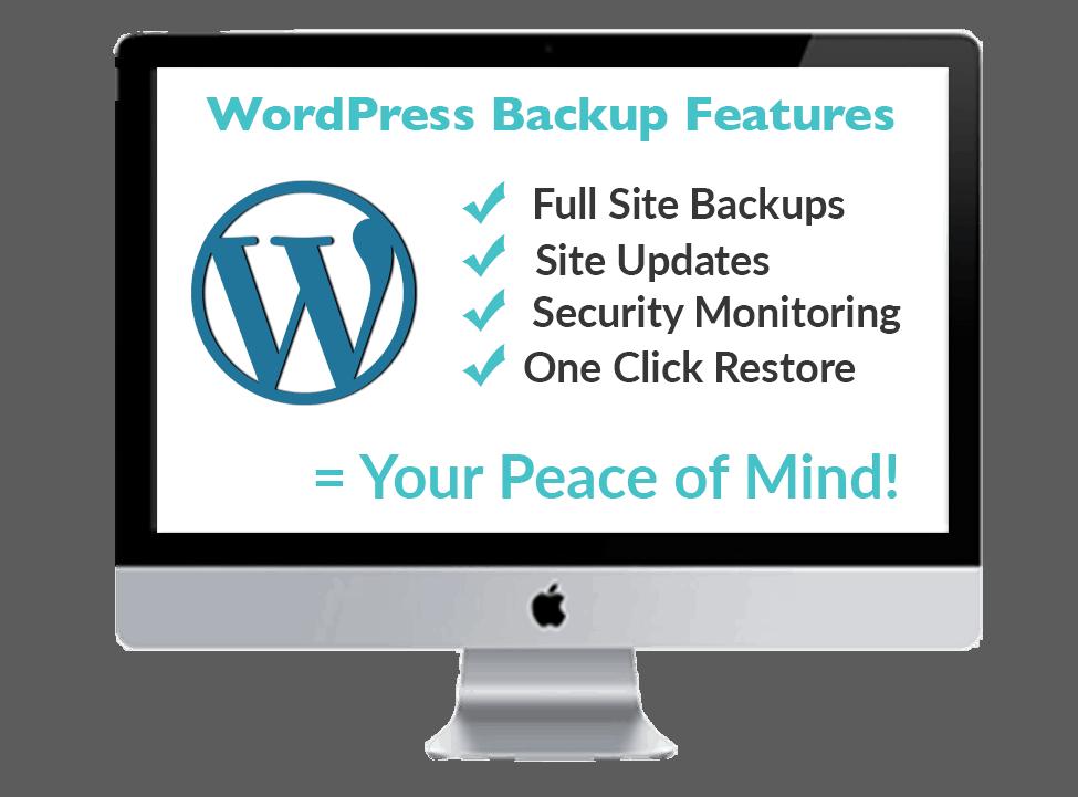 WordPress Website Backups Features