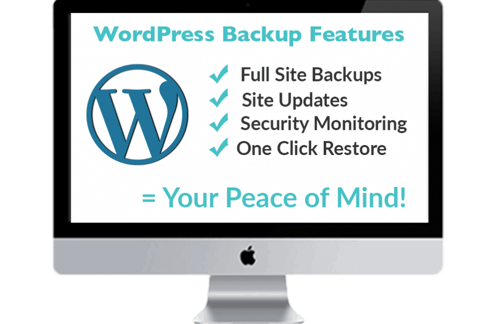 WordPress Website Backups Features